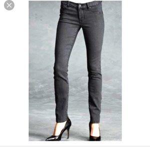 CAbi faded black rain skinny jeans jeggings 4